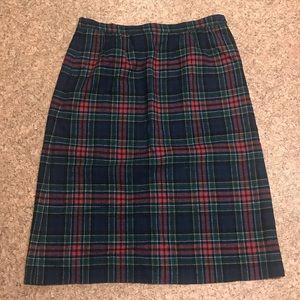 1c5721078e Vintage Pendleton Allison Tartan Skirt